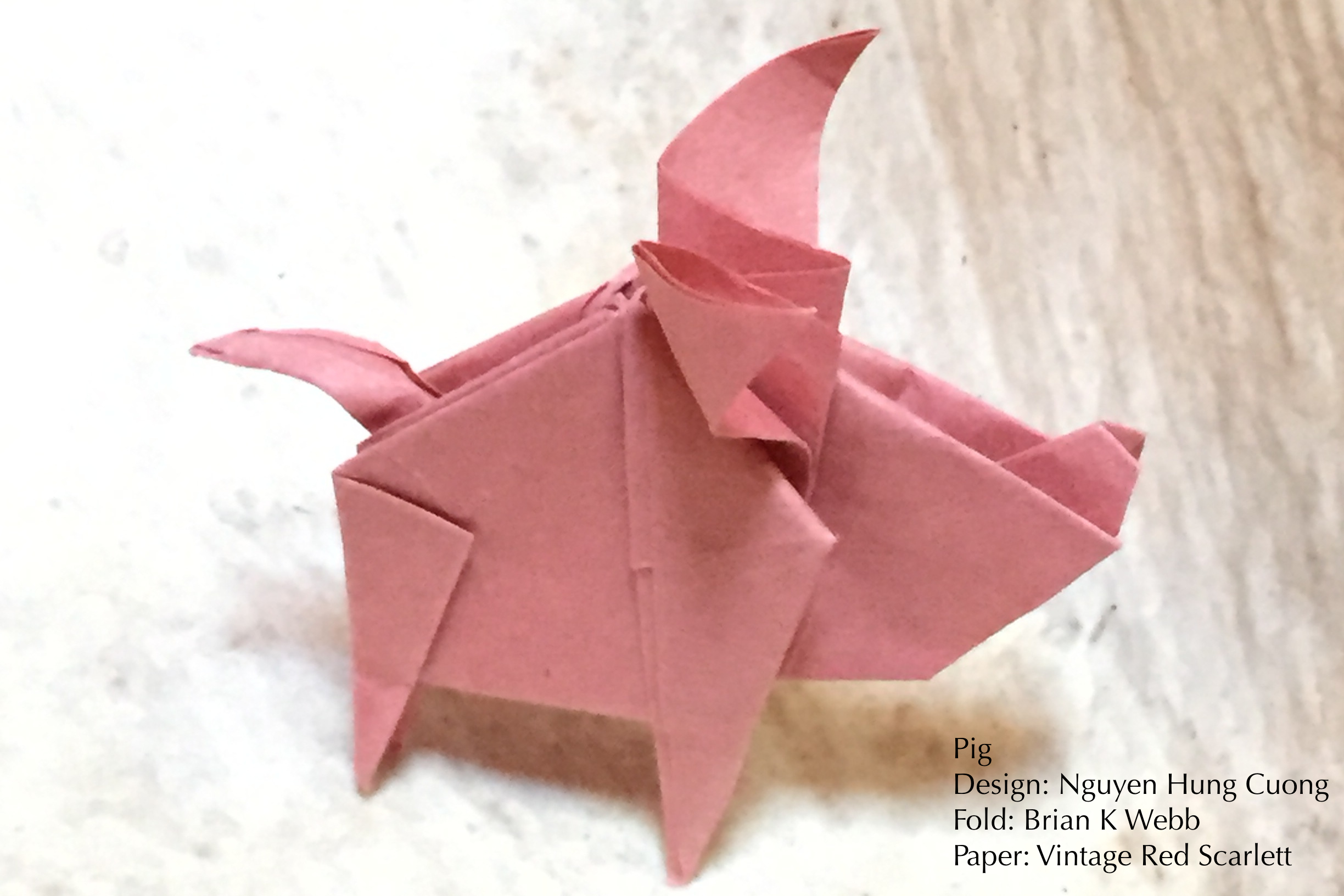 Vintage origami papers - photo#18
