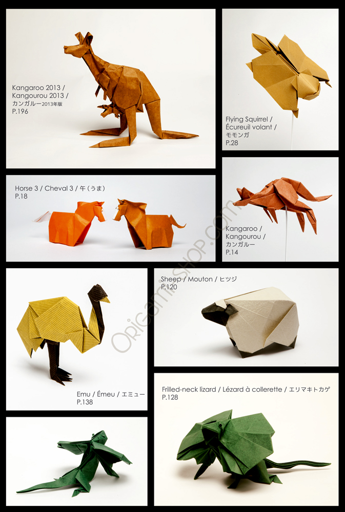 8 Spirits Of Origami By Gen Hagiwara