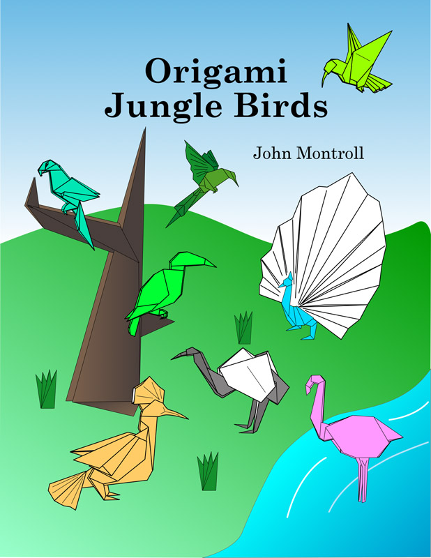 Origami Jungle Birds E Book Edition
